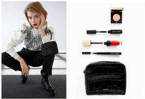 Bolsos y maquillaje