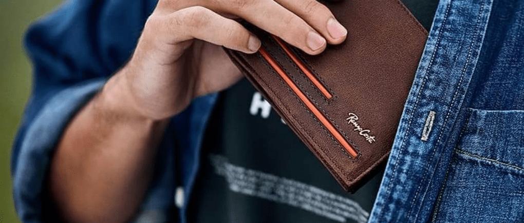 Una cartera de hombre