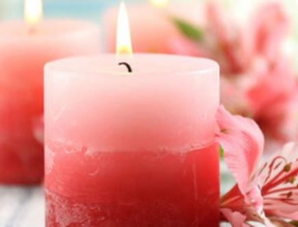 opción de velas perfumadas
