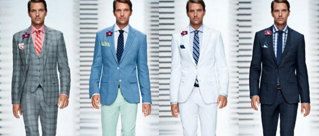 Hombre con distintos trajes.