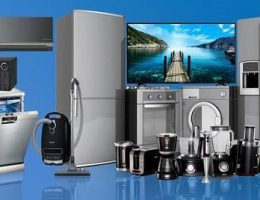 diferentes electrodomésticos