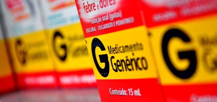caja de medicamentos genéricos