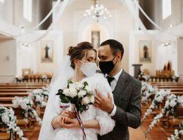 Una boda durante la pandemia de 2020