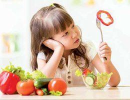 buena alimentación en niños