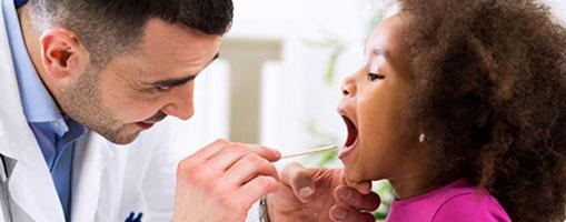 infección en la garganta