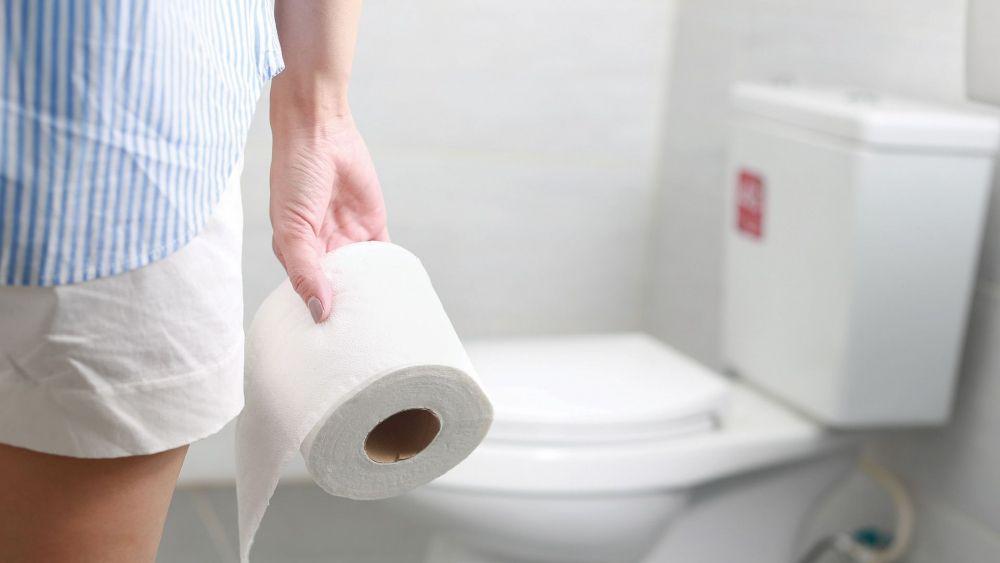 Persona con diarrea