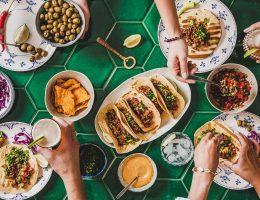 Platillos de comida mexicana